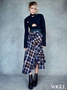 Paris Jackson for Vogue Australia.