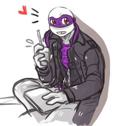 Busy by theichigoshell on DeviantArt Ninja Turtles 2014, Wattpad, Tmnt, Fangirl, Joker, Deviantart, Cute, Fictional Characters, Random