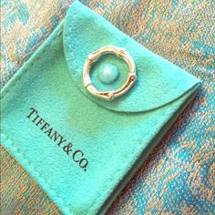 Tiffany & Co. Sterling Silver Bamboo Ring - Size 7 Matching small hoops also available! Tiffany & Co. Jewelry Rings