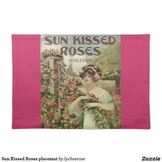 Sun Kissed Roses placemat