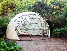 The Garden Igloo is a Pop-Up Geodesic Dome Perfect for Any Backyard | Inhabitat - Sustainable Design Innovation, Eco Architecture, Green Building