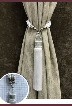 Cortinas Country, Buy Shop, Towel Holder, Decoration, Home Furniture, Tassels, Curtains, Stuff To Buy, Accessories