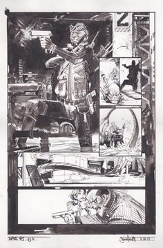 The Wake #3 par Sean Gordon Murphy, Scott Snyder - Planche originale