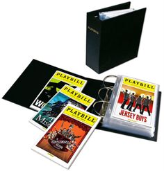 An exclusive Playbill item - This custom-made three-ring binder - the top choice for Playbill magazine collectors who wish to keep their collection in mint condition - uses archival quality materials to attractively display, organize, and protect...
