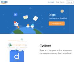 Diigo is a bookmarking tool and a knowledge-sharing community.