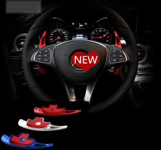 Car steering wheel shift paddle for Mercedes Benz 2015-2017 C-class/2016-2017 E-calss/GLC-class(didn't fit for AMG car model)