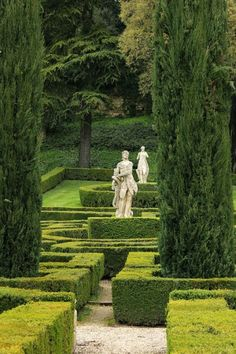 garden in Verona Unique Garden, Garden Art, Formal Gardens, Outdoor Gardens, English Garden Design, Home And Garden Store, Gardens Of The World, Topiary Garden, Parks