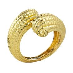 David Webb   Categories   bracelets   Double Coiled Gold Cuff