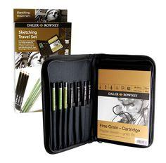Daler-Rowney Sketching Travel Case Price: $ 27.95