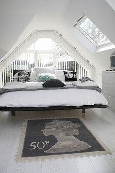Modernes Schlafzimmer im skandinavischen Stil!