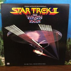 Star Trek II The Wrath of Khan Original Motion Picture Soundtrack OST Vinyl Record LP 1982 Atlantic Starship Enterprise by vintagebaron…