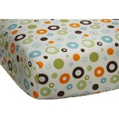 Cute sheets to go with a simple blue breathable crib bumber