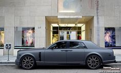 The World's Only Matte Grey Mansory Conquistador Based On The Rolls-Royce Phantom