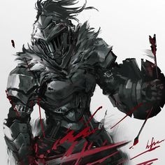 Goblin Slayer, by Infukun Fanarts Anime, Manga Anime, Anime Art, Dark Souls, Goblin, Fantasy Characters, Anime Characters, Les Gobelins, By Any Means Necessary