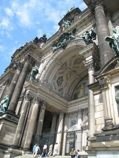 Portico de la Catedral de Berlin