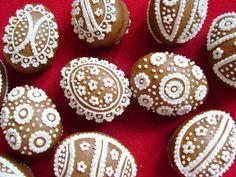 Perníková 3D vajíčka 10ks / Zboží prodejce Lakynka | Fler.cz Gingerbread, Easter, Wafer Cookies, Crack Crackers, Ginger Beard, Easter Activities