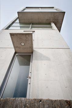 Tadao ando 4x4 house 3d model archweb tadao ando - Architecte japonais tadao ando lartiste autodidacte ...