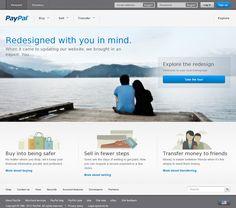 Amazing website redesign. Brava, Paypal