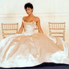 Victoria Beckham in Vera Wang  http://www.americasmart.com/apparel/vow-new-world-of-bridal