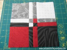 Disappearing Four Patch – Cards and Stitches