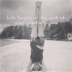 #Life begins at the end of your #comfort zone