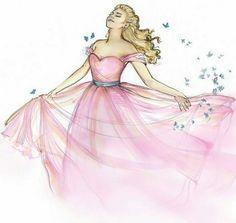 New Cinderella art (unknown artist)
