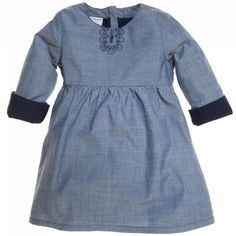 Polarn O. Pyret: Timeless Embroidered Gingham Dress