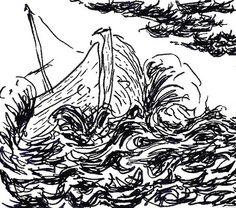 Tormenta (storm) sketch