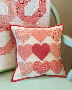 heart fabric pillows, covers, cases inspiration