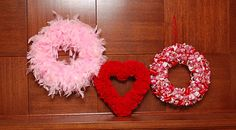 Every Pot and Pan: Seven Valentine Wreaths and Crafts!