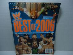 WWF / WWE Wrestling Magazine Issue January 2007 Best Of English Monthly #WWE