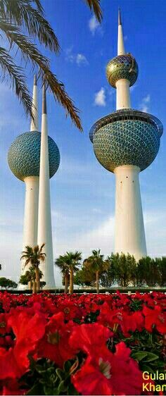 Awesome beauty of beautiful water tank in Kuwait