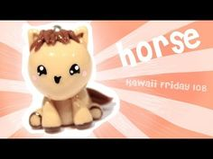 ▶ ◕‿◕ Horse! Kawaii Tutorial in Polymer clay!