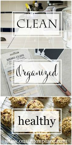 All Things Clean, Organized and Healthy   DIY Ideas, recipes and tips   onsuttonplace.com