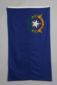 Vintage Nevada State Flag:::