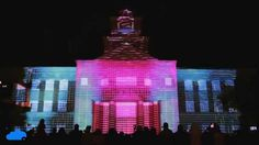 Sugar Land, Texas New Year's Eve Projection Mapping