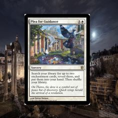 ManaTapped.com is giving away Magic the Gathering cards all the time! Stop by to win Plea for Guiadance from the Born of the Gods set or one of our other multiple Magic the Gathering giveaways!  #MTG