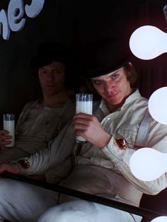 "A Clockwork Orange (If you can find the book with the original ending instead of the ""safer"" American ending....do it!!!!!)"