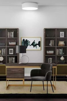 Explore more office designs and interior decorating ideas on Havenly. Find room inspiration and discover beautiful interiors designed by Havenly's talented online interior designers.