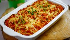 Recipe Images, Meals For One, Lasagna, Quiche, Macaroni And Cheese, Cake Recipes, Food And Drink, Healthy Recipes, Breakfast