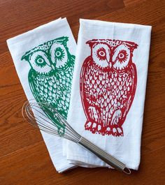 Owl Towel Set