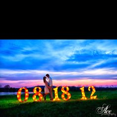 Best Save The Date idea | Photo Credit: Ace Photography