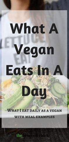 Are you wondering what a vegan eats in a day? Read this post to see a sample vegan meal plan and how to create one of your own.
