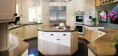 Granite & Quartz overlay countertops, designed to fit over your existing surface.  www.granitetransformationssandiego.com