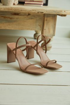 Strappy Block Heels, Strappy Sandals Heels, Shoes Heels, High Sandals, Block Sandals, Aldo Shoes, Dress Sandals, Pretty Shoes, Cute Shoes