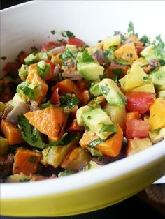 Recipe highlight chickpea cakes with corn salsa veteran blog whole food mommies cooking blog whole food recipes try the sweet potato salsa on forumfinder Images