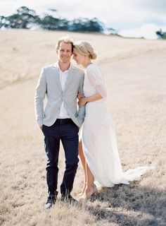 Engagement from Jose Villa | Real Weddings | OnceWed.com