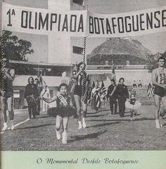 1958 - Fórum CANAL BOTAFOGO - Tópico - Matando as Saudades Cronologicamente ........A II Olimpíada teve seu desfile de abertura também no Estádio de General Severiano, a 11 de outubro de 1958, sendo igualmente entregue o prêmio 'Honra à Fidelidade', bem como prestado o juramento olímpico.