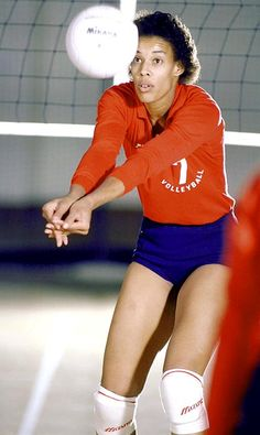 """Flo Hyman - Often called the best volleyball player of all-time, the 6'5"""" hitter known as much for her devastating kills as for her kind heart played a crucial role in popularizing the game in the wake Title IX."""