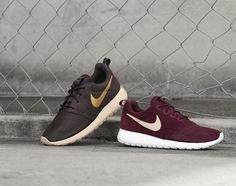 #Nike Roshe Run Winter 2014 Suede Pack #sneakers